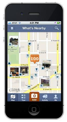The walkscore app helps check out the neighborhood amenities and compare commutes.
